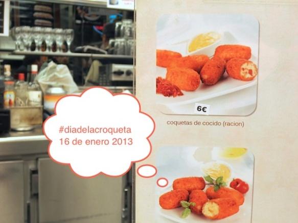 16 de enero - #diadelacroqueta