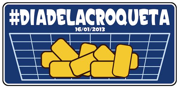 Llegó el gran día. Lista de participantes en el #diadelacroqueta