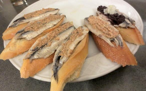 Las famosas anchoas del Txepetxa