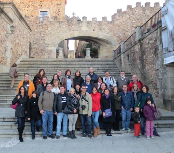 Foto de Familia GastroNómadas Cáceres